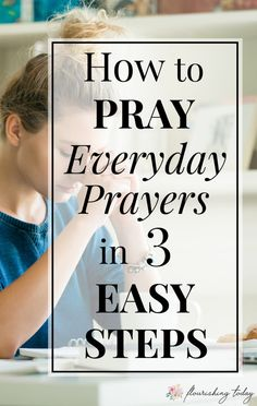 Bible Study:Do you struggle with how to pray everyday? Praying is simply talking to God and doesn't have to be complicated. Here are a few tips for beginners on how to pray to God daily. Prayer Scriptures, God Prayer, Power Of Prayer, Daily Prayer, Bible Prayers, Prayer Book, Monday Prayer, Bible Verses, Christian Women