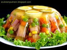 Appetizer Salads, Appetizer Recipes, Easter Recipes, Holiday Recipes, Czech Recipes, Ethnic Recipes, Cooking Recipes, Healthy Recipes, Food Decoration