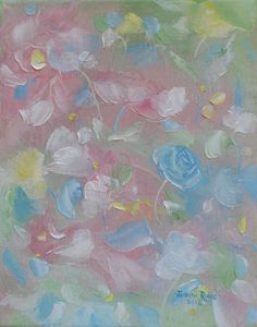 Pastel Abstract Flowers
