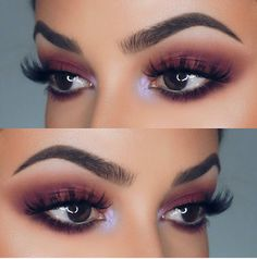 Burgundy eye