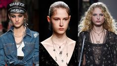 Layered Necklaces Stay on Trend Fall/Winter 2016-17