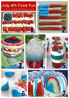 *July 4th Food Fun#Repin By:Pinterest++ for iPad#