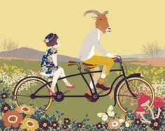 Bicycle by Katogi Mari