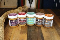 NEW Buff Butter Variety Pack including the COOKIE ALMOND BUTTER (One of Each - Cookie, Chocolate Chip, Snickerdoodle, Coconut Cranberry, and Cinnamon Raisin)