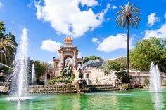 Barcelona, Spanyolország Ciutadella Park