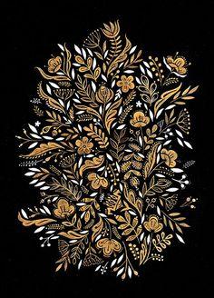 Dinara Mirtalipova | folk art | floral art