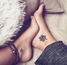 Beautiful tattoos...which is your favourite? Left or right? P