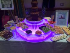 Our scrumptious 5 tier chocolate fountain available to hire  www.entirelybridal.co.uk www.facebook.com/entirelybridal www.candysweetstands.com