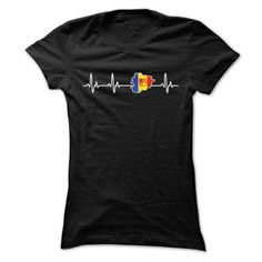awesome ANDORRA HEARTBEAT T SHIRTS