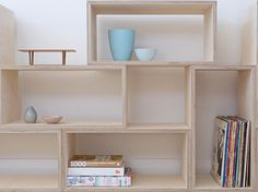 plywood box shelving - Google Search