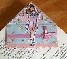 Whiff of Joy - Tutorials & Inspiration: Corner Bookmark By Marley