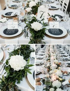 Jewish Greek Wedding at Brooklyn Botanical Garden New York | Tablescape | Design by We Create & Co