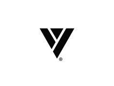 In The Void V Mark. designed by Farooq Shafi. V Logo Design, Graphic Design, Holographic Print, Logo Minimalista, Church Logo, Girl Background, Custom Pc, Initials Logo, Great Logos