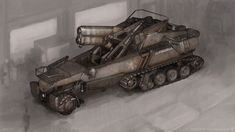 """""""Object C"""" by Mike Doscher. Some people make dieselpunk design look so easy!"""