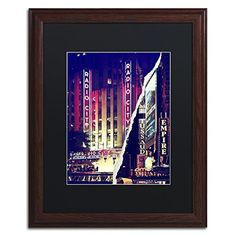 "Trademark Fine Art Times Square Theater District by Philippe Hugonnard Artwork, 16 by 20"", Black Matte/Wood Frame Trademark Fine Art http://www.amazon.com/dp/B0144OSDP6/ref=cm_sw_r_pi_dp_BvN-vb0DWHYPD"