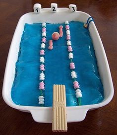 I think we need to do this for the next swim team party!