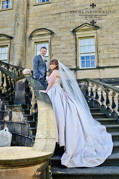 Nostell Priory Wedding Photography Amore Photography of Wakefield Church Wedding Photography, Night Time Wedding, Wakefield, Wedding Groom, Bride, Dresses, Fashion, Amor, Wedding Bride
