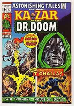 Astonishing Tales Featuring KaZar and Dr. Doom #6