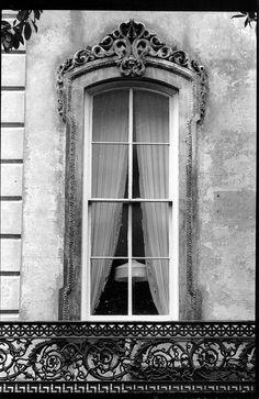 ♅ Dove Gray Home Decor ♅  Old World Window in gray