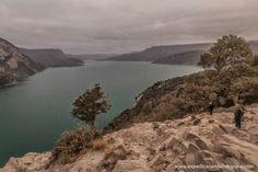 EXPEDIÇÃO ANDANDO POR AÍ...: Paisagens do outono no caminho para o Paso Hua Hum...