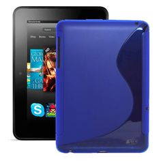 """KAYSCASE S-Shape Cover Case for Amazon Kindle Fire HDX 7"""" inch Tablet, Dolby Audio, Dual-Band Wi-Fi, 2013 Version (Blue) KaysCase http://www.amazon.com/dp/B00EVEOX5E/ref=cm_sw_r_pi_dp_K5sNub1Y9VASY"""