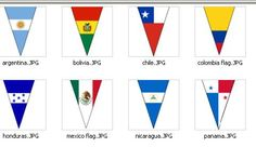 Flag Banners for your Spanish classroom!
