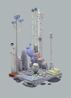 Ecology 2 - Illustration by Erwin Kho
