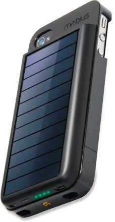 Solar iPhone charger for on the go!