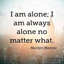 Image result for alone quotes