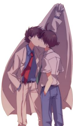 Kaito Kid x Shinichi
