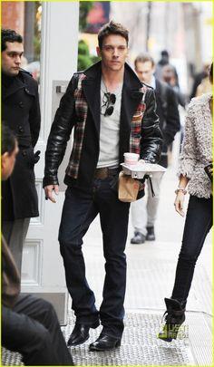"Jonathan Rhys Meyers: when I see him in public like this, I'll run n hug him tight n never let go... till death do us apart *_*"""