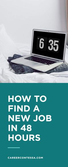 Follow our guide to kickstart your job search in under 48 hours because we've all been there: procrastinating on updating your resume, forgetting our LinkedIn password, and putting off looking through online job boards. No one wants to do all that, so here's to a new job in five easy steps. | Career Contessa.com