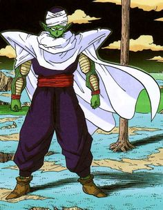 Here are some OP Top 10 Facts About Piccolo you may or may not know. Piccolo was 8 years old when he took five years old Gohan after the Saiyan Saga. Dbz Manga, Manga Dragon, Dragon Ball Z, Geeks, Japanese Artwork, Fan Art, Son Goku, Weird Art, Comic Books Art