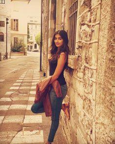 Pooja Hegde Hot HD Photos & Wallpapers for mobile Indian Bollywood Actress, Bollywood Girls, Bollywood Celebrities, Indian Actresses, Beautiful Girl Indian, Most Beautiful Indian Actress, Beautiful Actresses, Beautiful Ladies, Beautiful Eyes