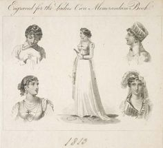 Museum of London | Hair styles of 1815