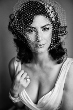 Gorgeous Laura! Portrait of a bride by Michael Greenberg