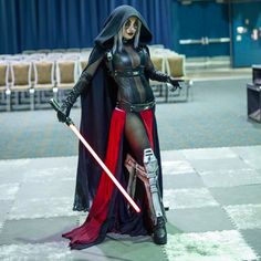 Sith Lord (Star Wars) Cosplay By: Jessica NigriYou can find Jessica nigri and more on our website.Sith Lord (Star Wars) Cosplay By: Jessica Nigri Costume Sith, Costume Star Wars, Dark Maul, Jessica Nigri Cosplay, Female Sith, Female Hero, Star Wars Sith, Star Trek, Clone Wars