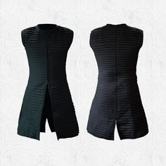 Kylo Ren - Full Sleeveless Pleated Tunic - Inspired by Star Wars: The Force Awakens