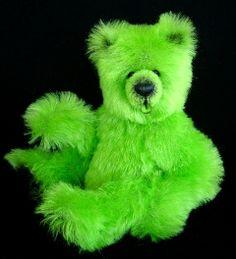 Soft old fabric=cuddly teddy bears