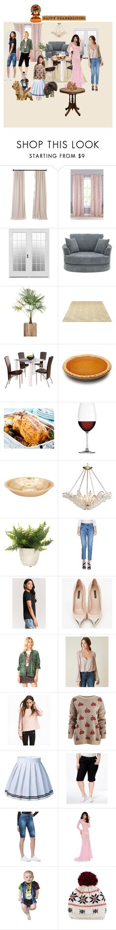 """""""happy thanksgiving"""" by superpop ❤ liked on Polyvore featuring Lala + Bash, Nachtmann, (+) PEOPLE, Forever 21, Louis Vuitton, Free People, Style & Co., Elegant Moments, Dinner and turkey"""