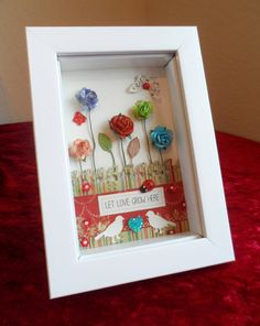 3D FRAME: Unique decoration Let love grow here by Beautificator