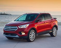 """Check out new work on my @Behance portfolio: """"Ford Escape Truck"""" http://be.net/gallery/47258715/Ford-Escape-Truck"""