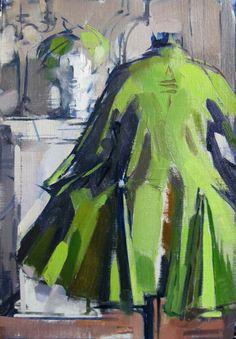 Green Jacket by Maggie Siner