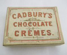vintage packaging - chocolate tabs