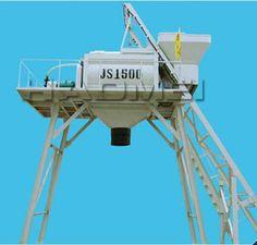 concrete batching plant on production of widely use concrete mixer JS1500