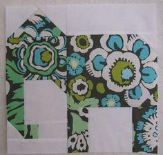 Elephant Quilt Block