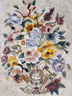 Floral Mosaic Art - Mosaic Designs - Mosaic Flowers - Mosaic Patterns | Mozaico