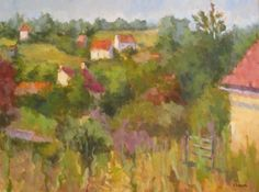 I love Helen Farson's Art!!!  Look at this luscious color pallete!!!!