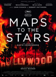Filmtitel: MAPS TO THE STARS,  Titelschrift: Alright Sans,  Foundry: Okay Type