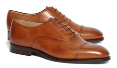 "Peal & Co. ""Made in England"" Cognac Captoes"
